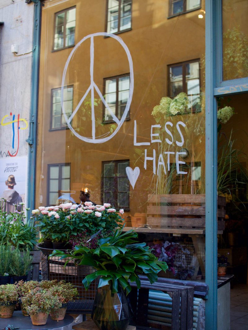 less hate